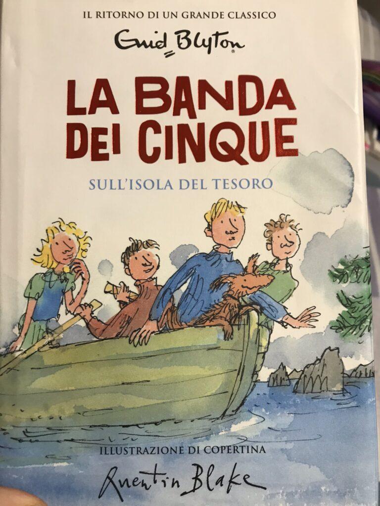 libri per bambini la banda dei cinque