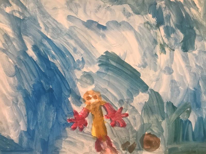 Pitturare: una delle possibili attività da fare insieme ai bambini